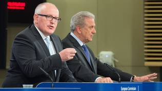 Frans Timmermans, Dimitris Avramopoulos