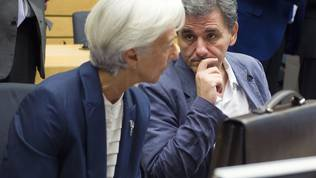Christine Lagarde, Euclid Tsakalotos