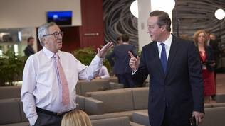 Jean-Claude Juncker, David Cameron