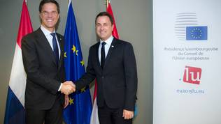 Mark Rutte, Xavier Bettel