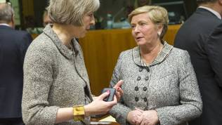 Theresa May, Frances Fitzgerald