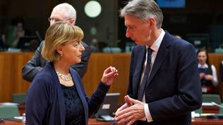 Vesna Pusic, Philip Hammond