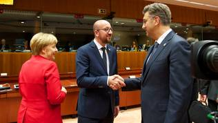 Merkel, Michel, Plenkovic